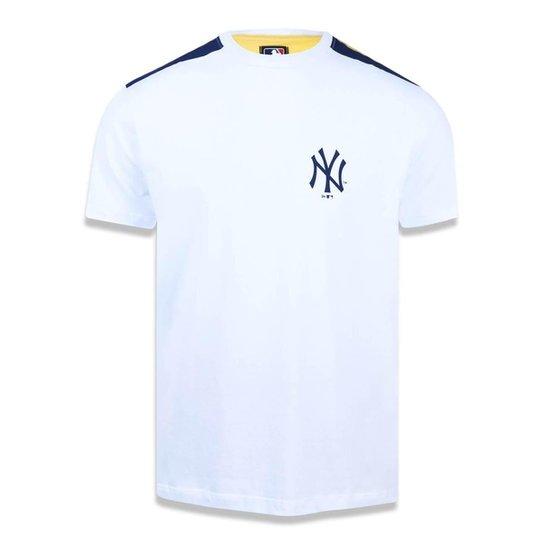 b82389dbf Camiseta New York Yankees MLB New Era Masculina - Branco - Compre ...