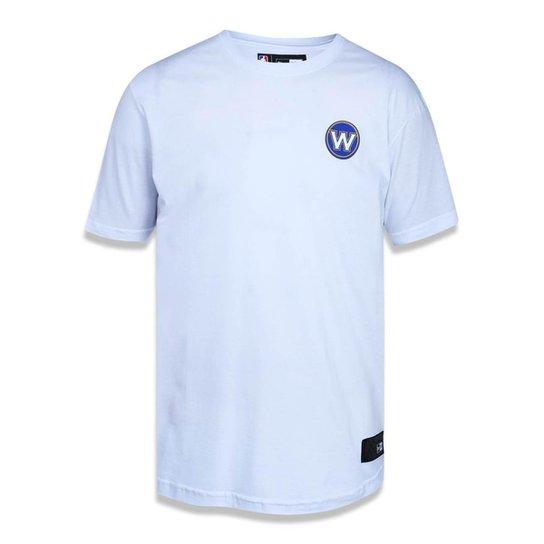 c84c908cc Camiseta Golden State Warriors NBA New Era Masculina - Branco ...