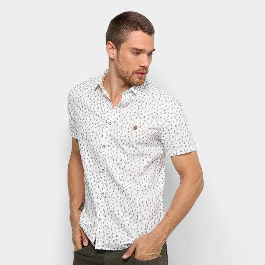 Camisa Acostamento Estampada Manga Curta Masculina - Compre Agora ... f05113920832b