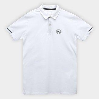 f38aeabb520ef Camisa Polo Infantil Acostamento Detalhe Estampado Masculina