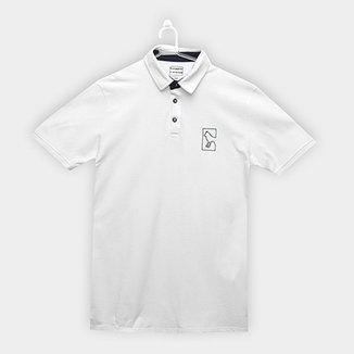 7b959cecd4 Camisa Polo Infantil Acostamento Logo Masculina