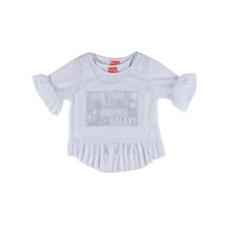 c52ede4b5 Blusa Regata com Sobreposição Infantil Cereja Rosa Feminina