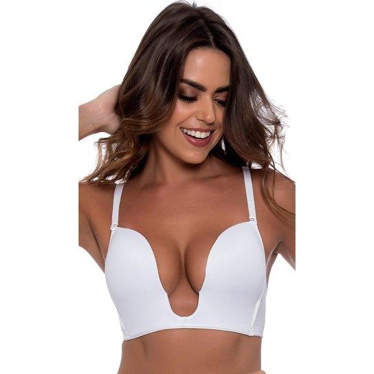 d32f55864 Sutiã Nayane Rodrigues Multifuncional Feminino - Branco - Compre ...