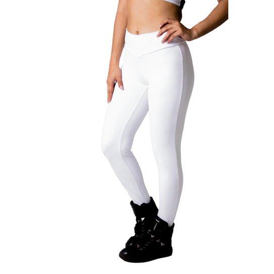 14b2fb4818 Calça Legging Adamas Poliamida - Branco