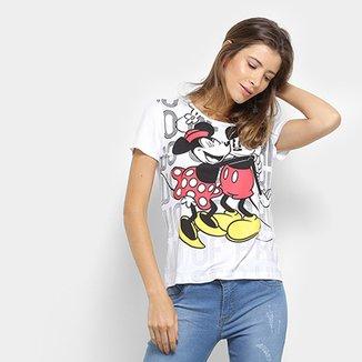976018df3 Blusa Cativa Disney Estampa Mickey Feminina