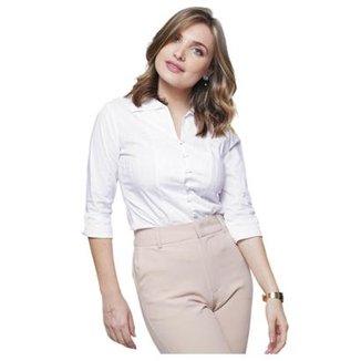 61db6b3d853f31 Camisas Feminino Branco | Zattini