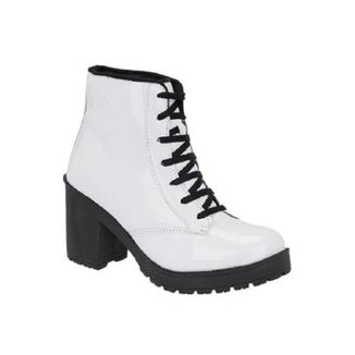 3eab8b74b3 Bota Tratorada Verniz World Boot Feminino