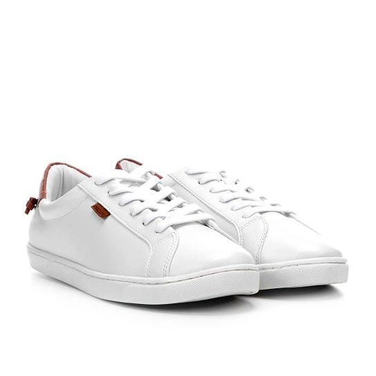 86c8584439 Tênis Anacapri Básico Cadarço Feminino - Branco - Compre Agora