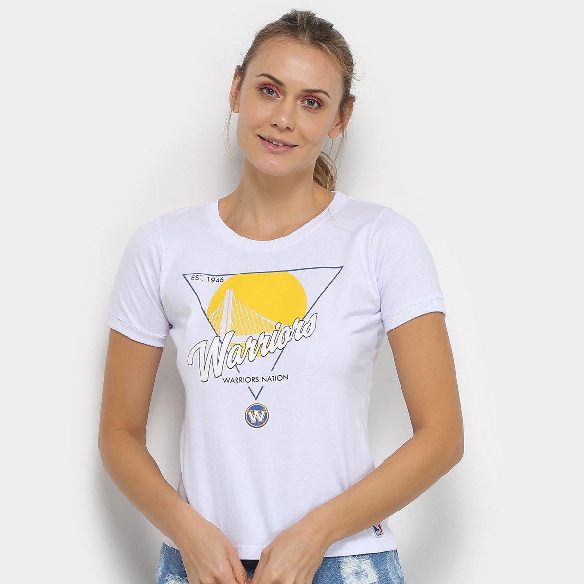 Camiseta NBA Golden State Warriors Symbol City Feminina