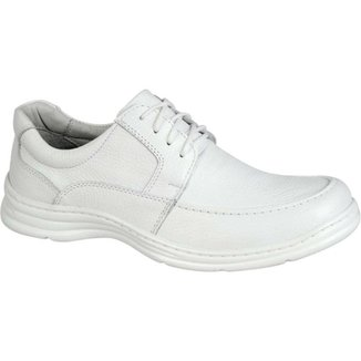 5a04881474 Sapato Confort Plus em Couro Bmbrasil Casual 2712