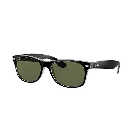 3cdf3d640439d Óculos de Sol Ray-Ban New Wayfarer Masculino - Branco - Compre Agora ...