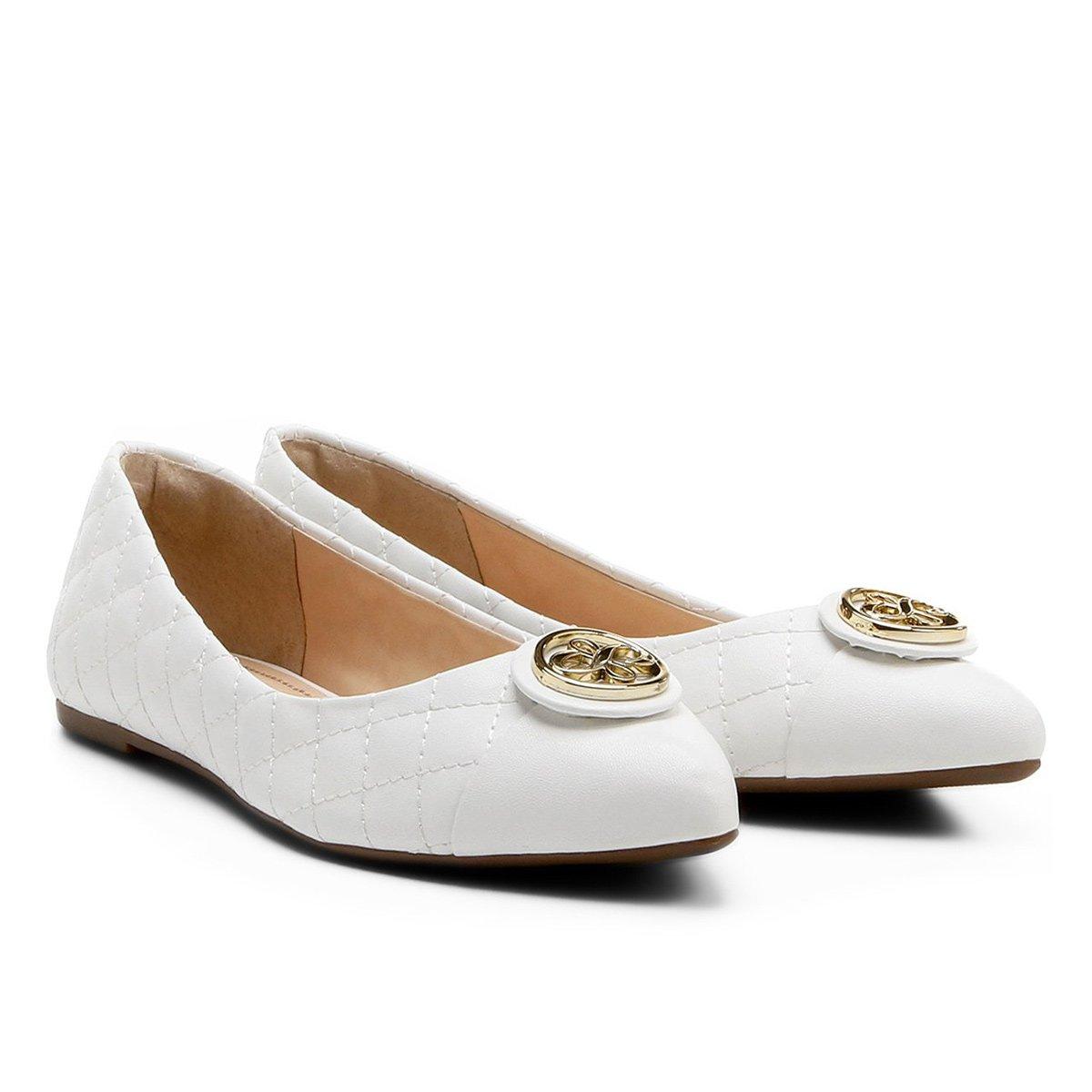 471c7cf7de ... Sapatilha Shoestock Bico Fino Matelassê