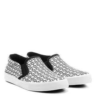Tênis Shoestock Slip On Monograma Infantil