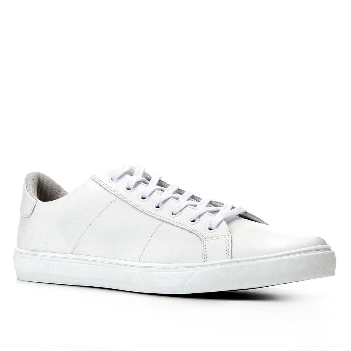 Tênis Couro Shoestock Básico Amarração