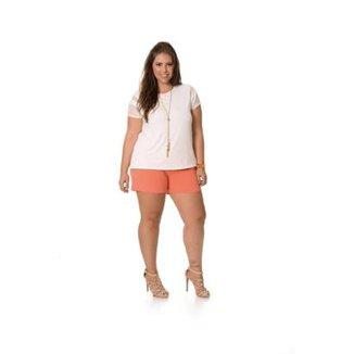 4f12f66270 Blusa Plus Size Rovitex Premium