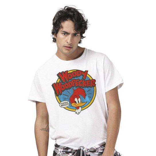 c5f88bbd8 Camiseta Bandup Pica Pau Woody Woodpecker - Branco - Compre Agora ...