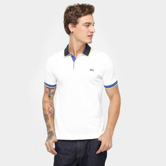 dfed870cd40e2 Camisa Polo Lacoste Live Piquet Fancy - Compre Agora   Zattini