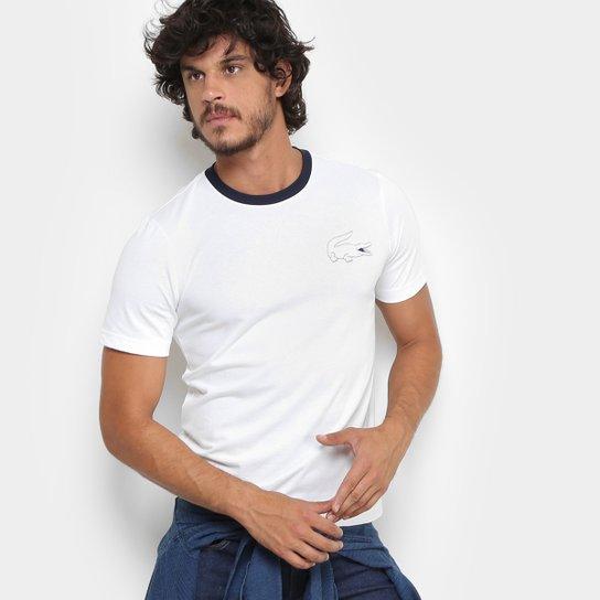 Camiseta Lacoste Live com Logo Masculina - Compre Agora   Zattini 322bb87018