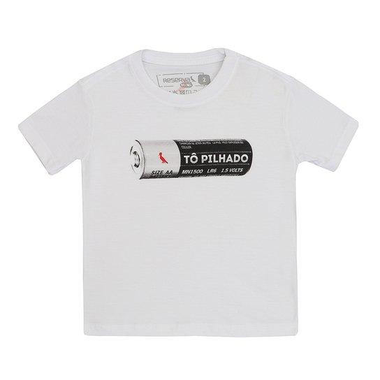 e9fecb0461 Camiseta Masculino Reserva Mini Manga Curta Tô Pilhado - Compre ...