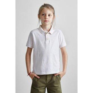 837021c27f Camisa Polo Masculina Infantil Mini Pf Piquet Botone Verao Reserva Mini