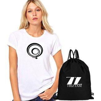 Camiseta + Mochila Fitness Tristam Mantra 3 a57f94e88ae