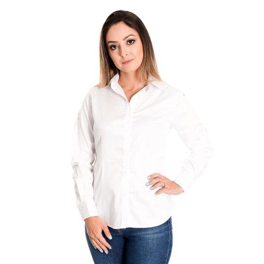 c8dcd0cf94 Camisa Pimenta Rosada Julie - Branco - Compre Agora
