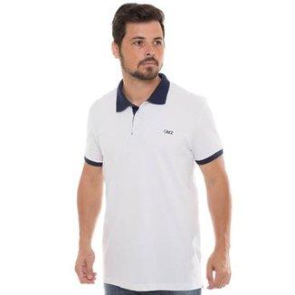 23050a697365a Camisa Polo Osmoze Contraste Masculina
