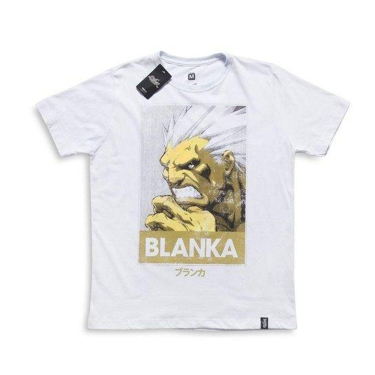 cb16100fa Camiseta Street Fighter Blanka Poster - Branco - Compre Agora