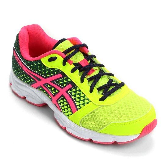 Tênis Asics Patriot 8 Feminino - Verde Limão e Pink - Compre Agora ... 2dd5c1a3067cf
