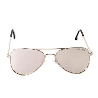 a1f0e11a3eec3 Óculos de Sol Khatto Infantil Aviador Station Feminino