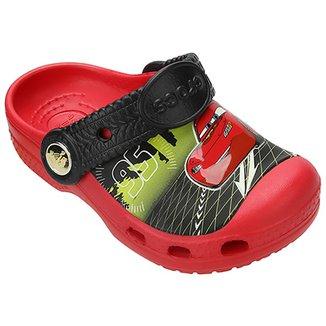 a1c01ee0b046 Sandália Crocs Relâmpago McQueen Infantil