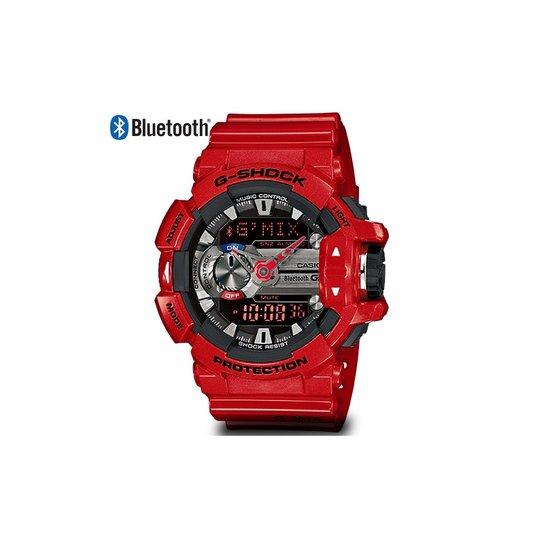76491d1bab7 Relógio G-Shock G-Mix Bluetooth - Vermelho - Compre Agora