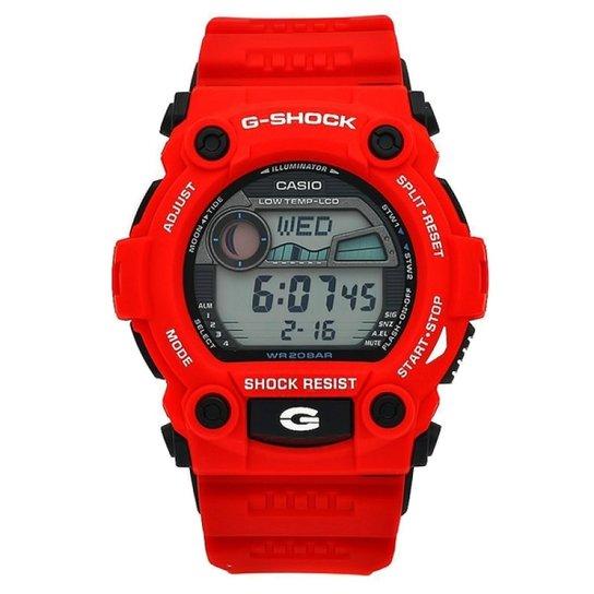 e342965744f Relógio G-Shock G-7900A-4DR - Vermelho - Compre Agora