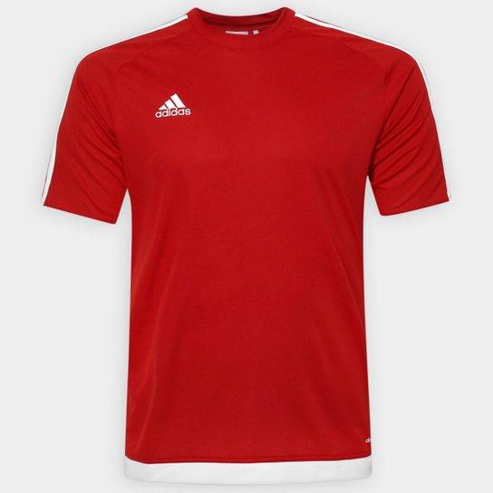 Camisa Adidas Estro 15 Masculina - Vermelho - Compre Agora  8863a059c0253