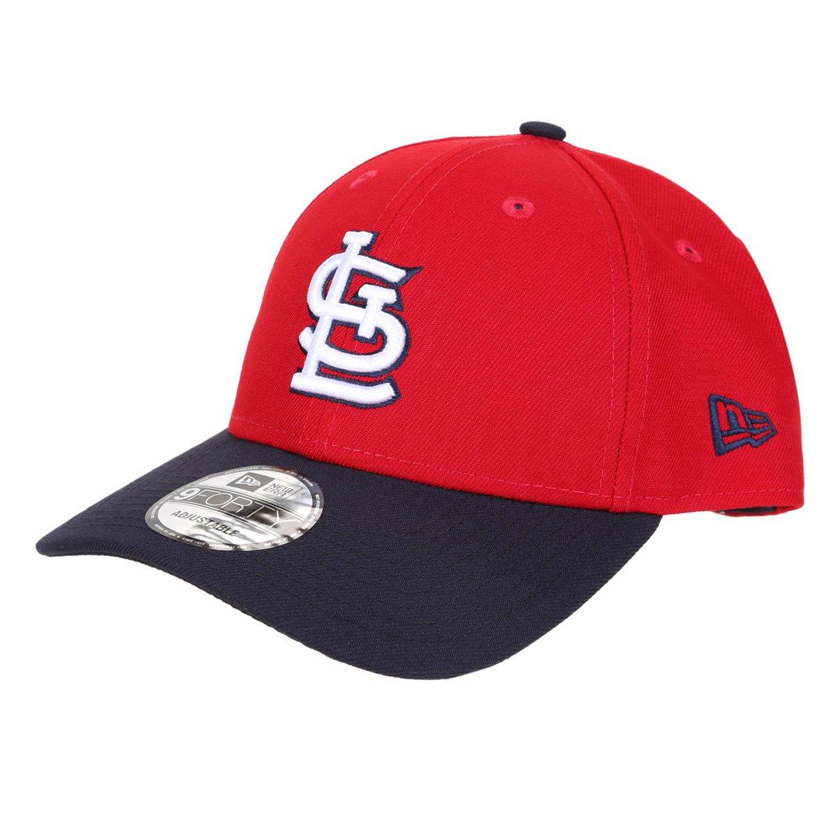Boné New Era MLB St. Louis Cardinals Aba Curva Snapback 9Fifty