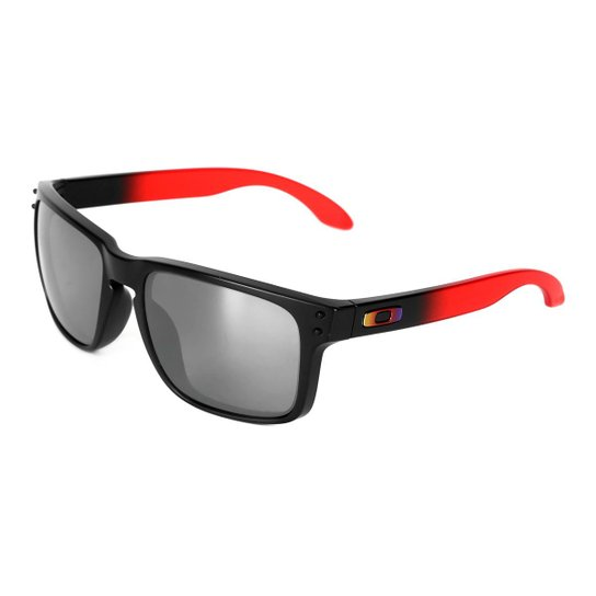 1bbd0152b Óculos de Sol Oakley Holbrook Masculino - Vermelho | Zattini