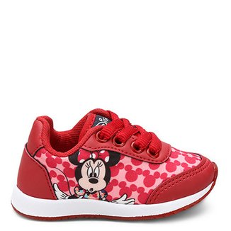906add6575 Tênis Infantil Disney Minnie Feminino