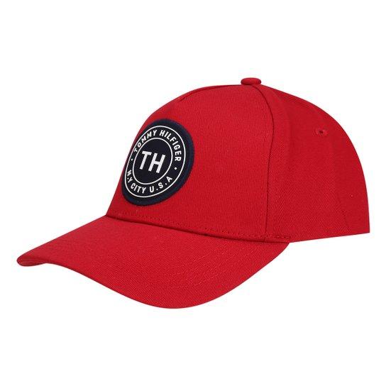87095e0011 Boné Tommy Hilfiger Aba Curva Th Badge Masculino - Compre Agora ...