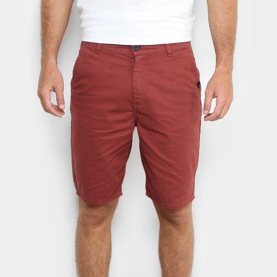 86d11fadc4 Bermuda Quiksilver Walk Chino Color Masculina - Compre Agora