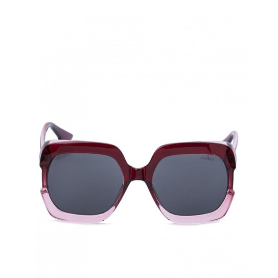 493e2f9eb84f2 Óculos Amaro De Sol Quadrado Bicolor Feminino - Compre Agora   Zattini