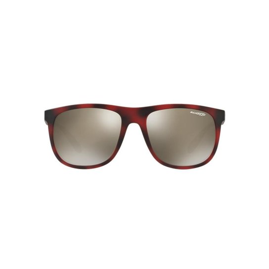 7eace0e9b Óculos de Sol Arnette Retângular AN4235 Crooked Grind Masculino - Vermelho