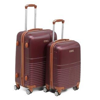67981b017 Conjunto de Malas de Viagem Yins Brasil ABS 2 Unidades