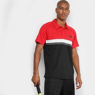 2234c6265d8 Camiseta Polo Adidas Club TD Masculina