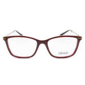a2335e2695288 Óculos de Grau Grazi Massafera Feminino