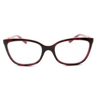 32535e704 Óculos de Grau Grazi Massafera GZ Havana Cereja Feminino