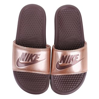 e4ccffb2b Sandália Nike Benassi Jdi Print Feminina