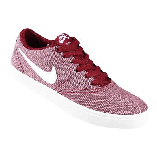 b228a3741e18 Tênis Nike Wmns Sb Check Solar Cvs P Feminino - Vermelho - Compre ...