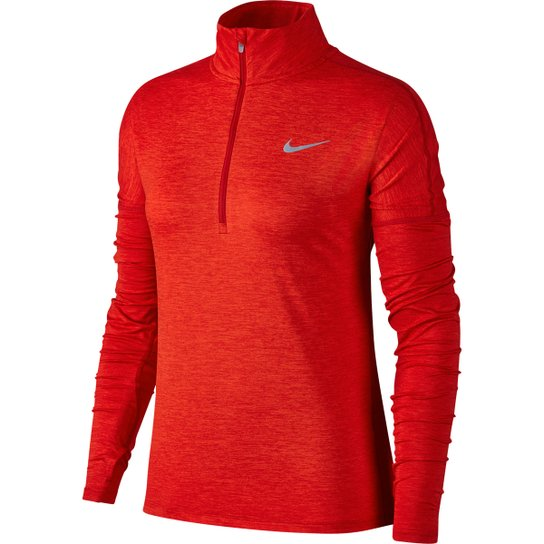 f2903642bc Camiseta Nike Dry Element Half-Zip Manga Longa Feminina - Compre ...