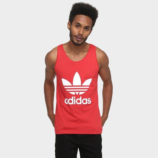 Camiseta Regata Adidas Originals Trefoil - Compre Agora  0553272f016ef