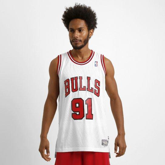 bc8b3732acfe7 Camiseta Regata Adidas NBA Retired Chicago Bulls - Rodman - Compre ...